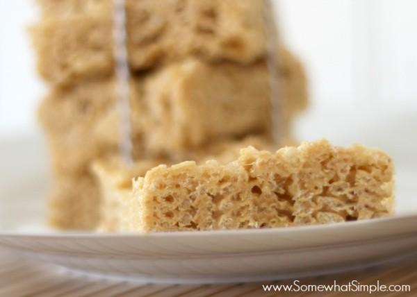 biscoff rice crispie treats 3