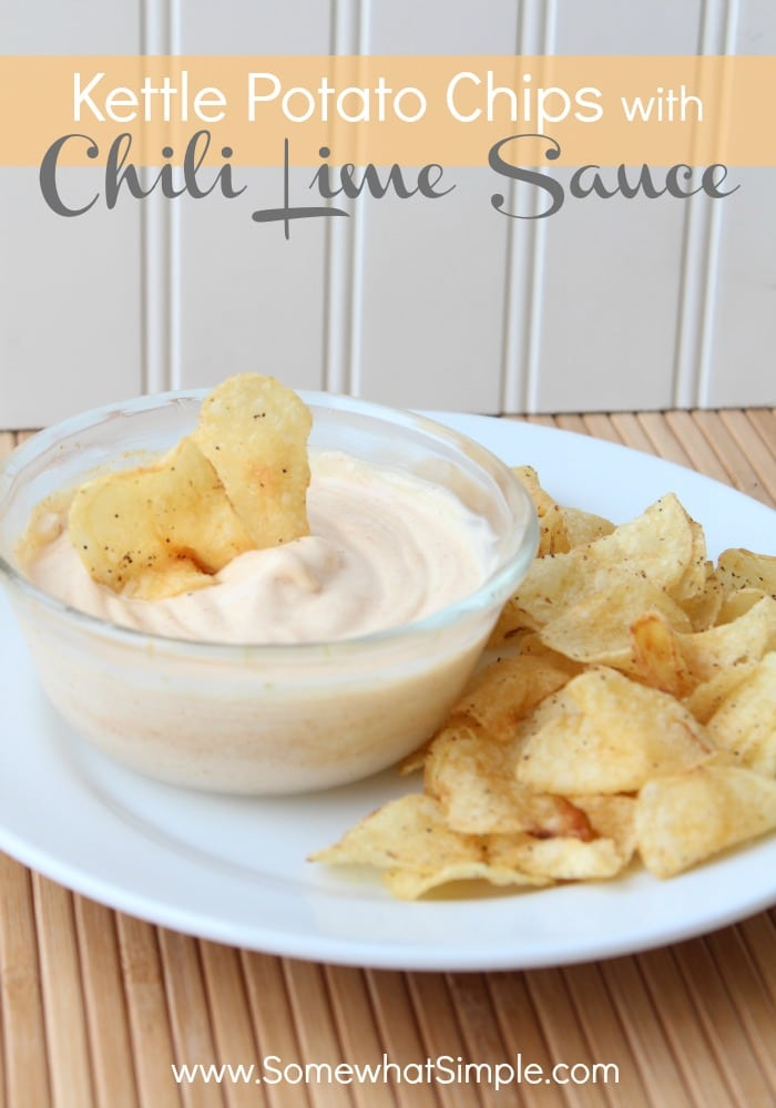 This chili lime sauce dip has an amazing flavor and perfect to serve at your next party. via @somewhatsimple