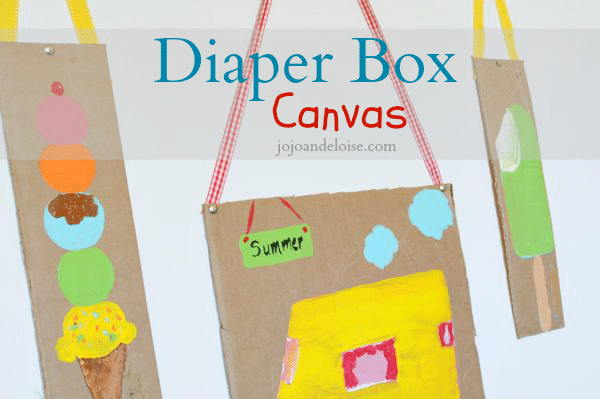 kids-recycled-repurposed-cardbaord-diaper-box-craft-project-jojoandeloise.com