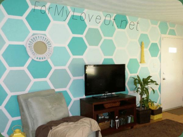 05 hexagon wall