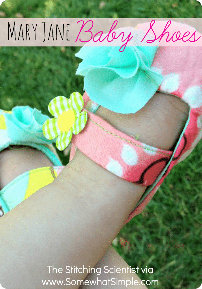 Make Your Own Baby Mary Jane Shoes Somewhat Simple