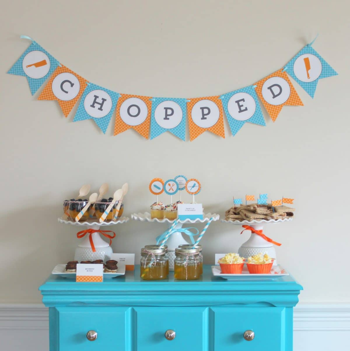 Tween Party Ideas - Chopped Party - Somewhat Simple