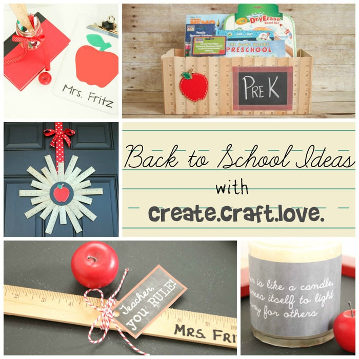 Back to School Ideas with createcraftlove.com #backtoschool