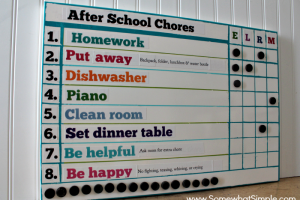 how to make a chore chart 2