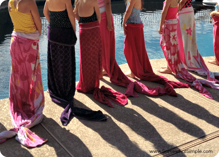 Mermaid Party- Make Your Own Mermaid Tails