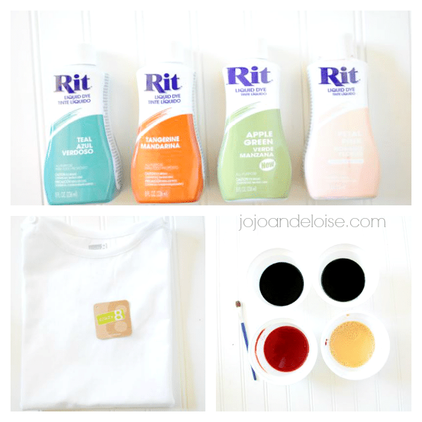 rit dye colored shirt #kids #craft #watercolor shirt jojoandeloise.com