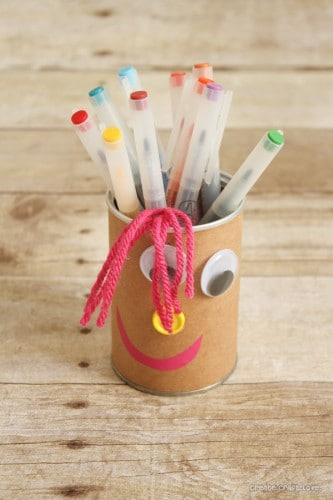 Silly Faces Pencil Holders