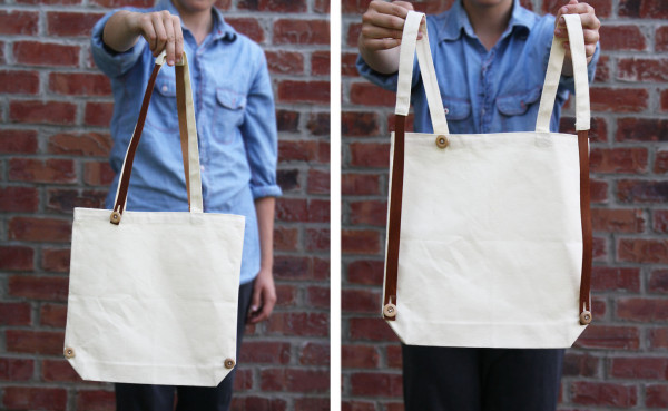 Interchanging Tote / Backpack - Somewhat Simple