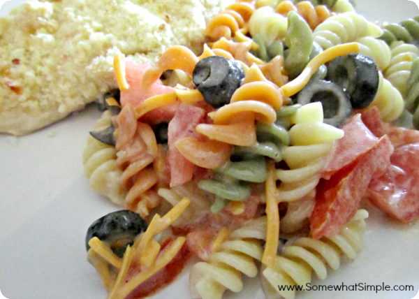 6 Pasta salad