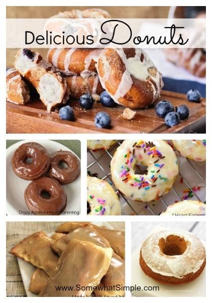 6 donut recipes