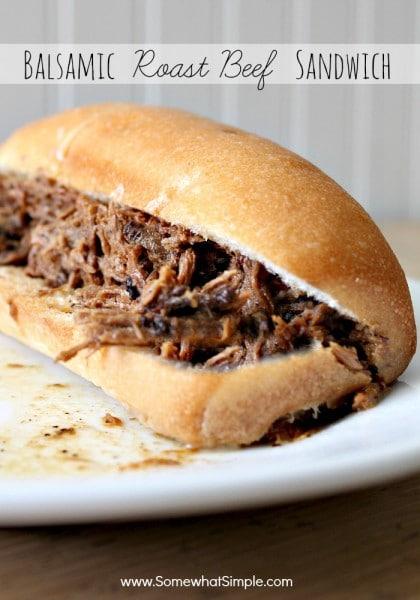 Balsamic Roast Beef Sandwich 10