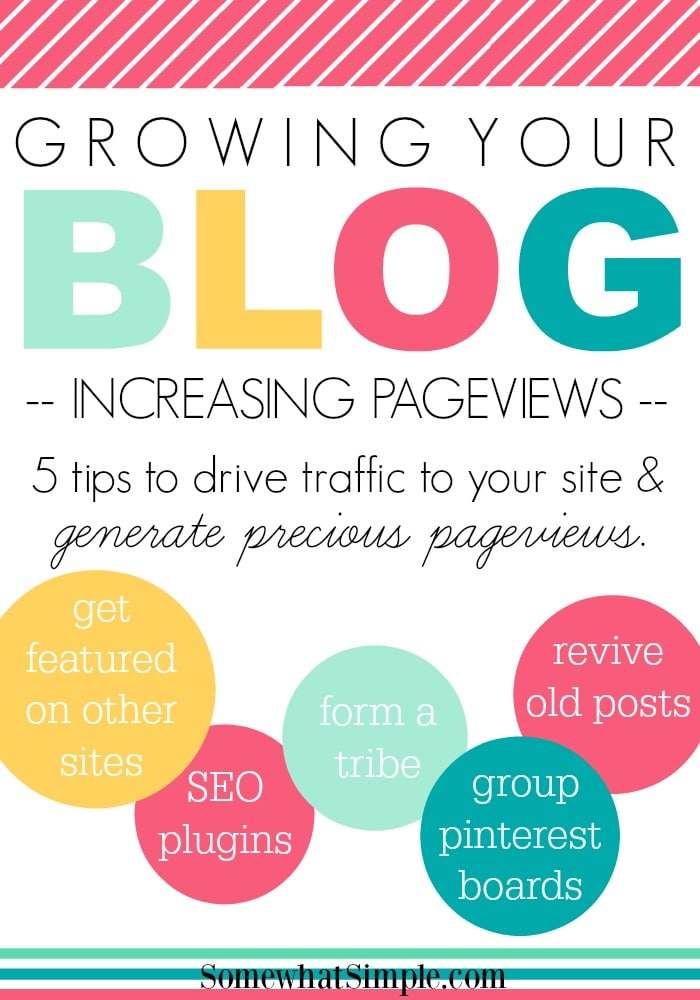 Growing Your Blog- Increasing Pageviews