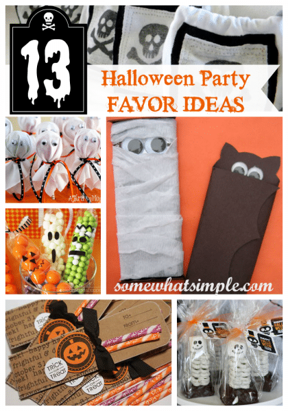 Halloween Party Favor Ideas