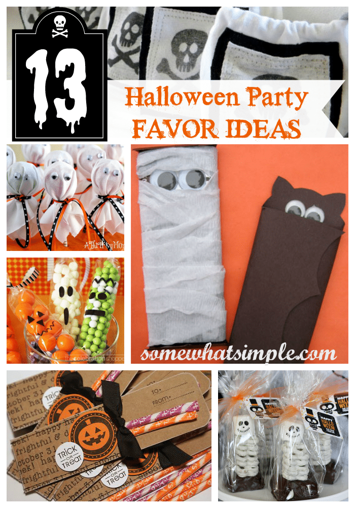 halloween party favor ideas somewhat simple
