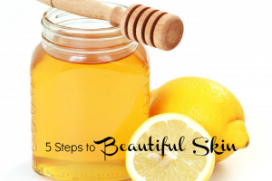 homemade honey facial