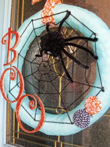 Whimsical Spider Wreath
