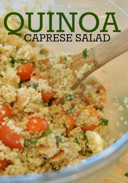 Caprese Quinoa Salad 1