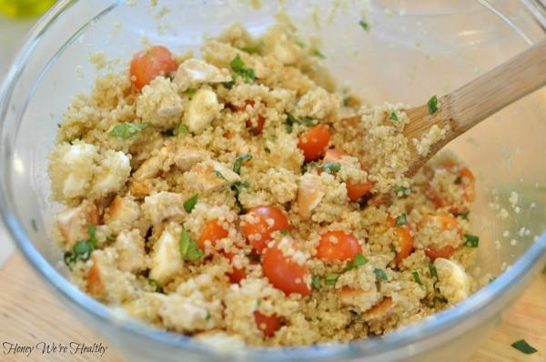 Caprese Quinoa Salad 7