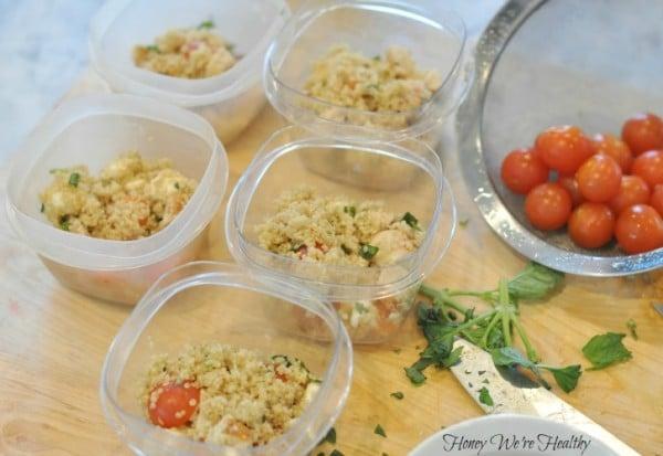 Caprese Quinoa Salad 8