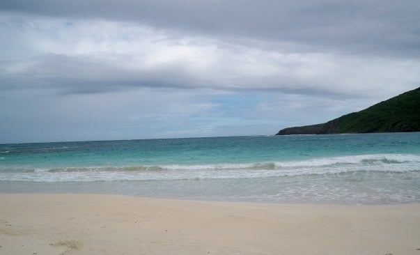 Culebra Island in Puerto Rico- Once voted one of the top 10 beaches in the world