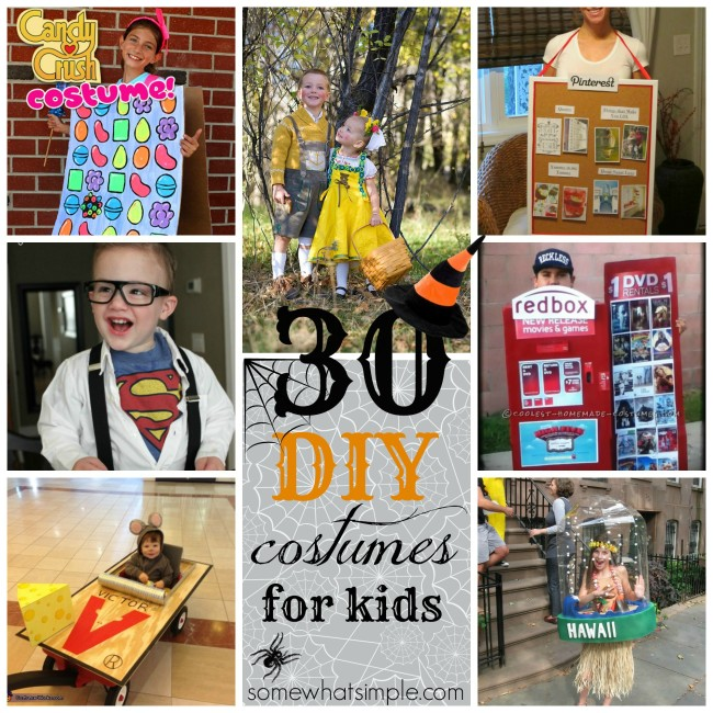 30 Diy Halloween Costumes Somewhat Simple