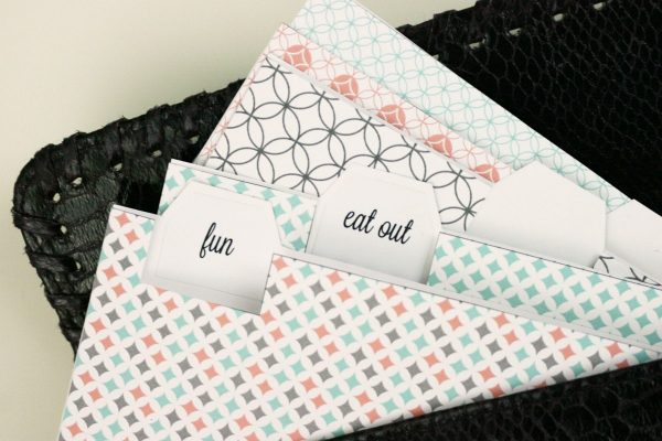 Easy Printable Budget Envelopes | By saynotsweetanne.com via somewhatsimple.com | #printable #budget #envelopes #money