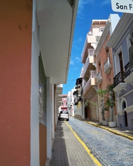 Old San Juan- A great vacation destination that does not require a passport