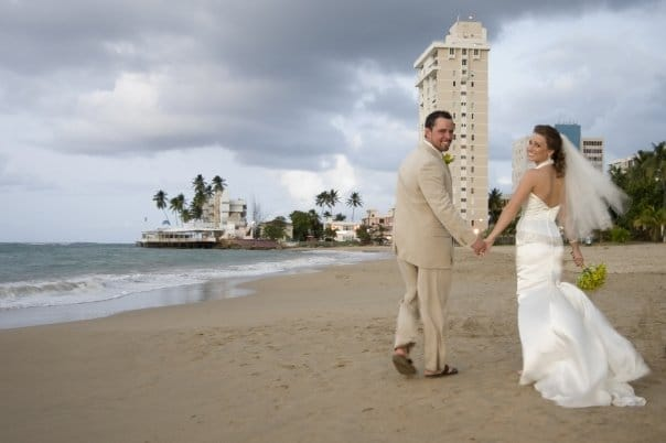 San Juan Puerto Rico is a GREAT destination wedding location!