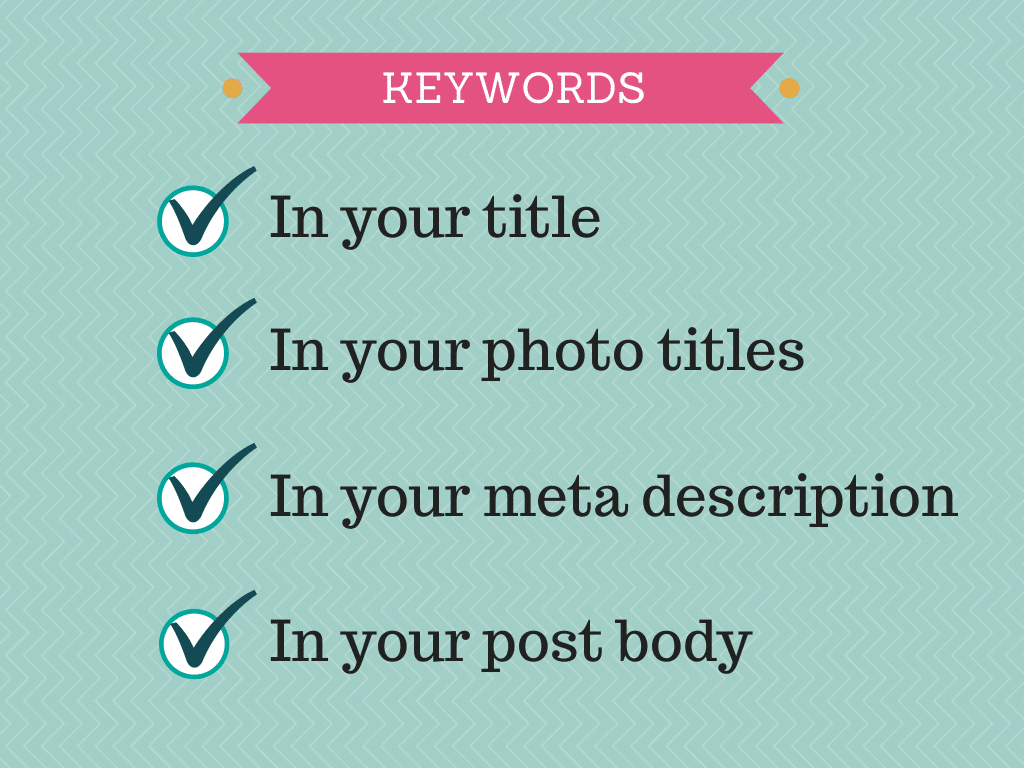 Keywords and SEO for Bloggers