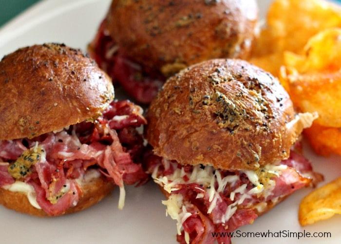 baked pastrami sandwich 3