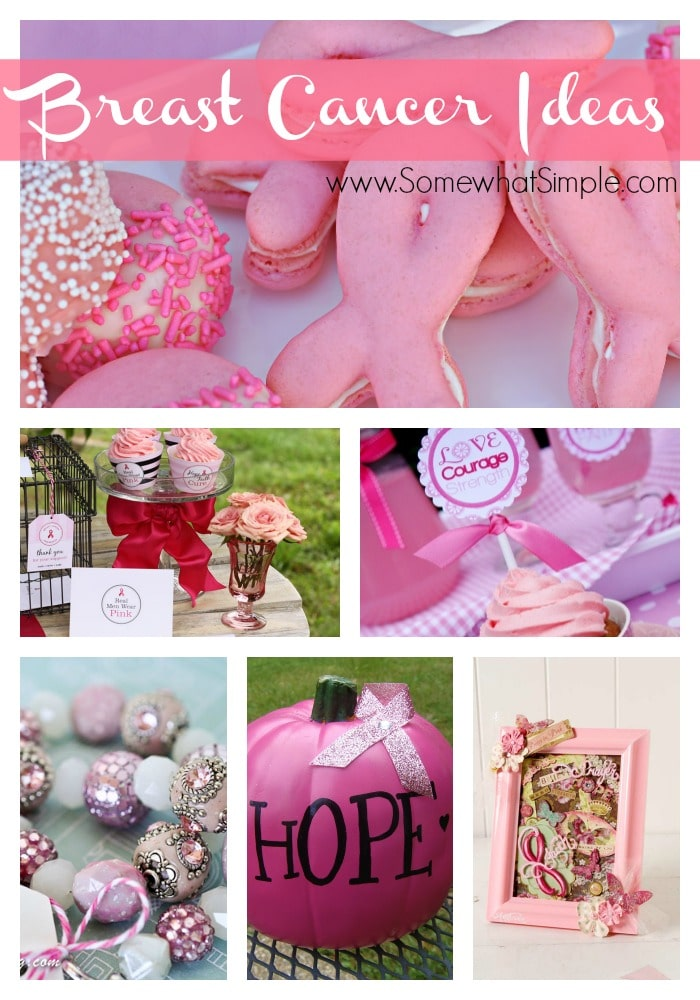 breast cancer awareness ideas 10 fun crafts and recipes. Black Bedroom Furniture Sets. Home Design Ideas