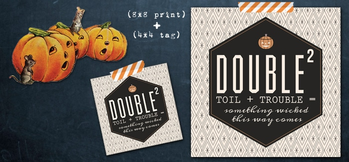 double double toil and trouble free printable