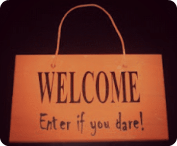 Kids Craft Halloween Welcome Sign Somewhat Simple
