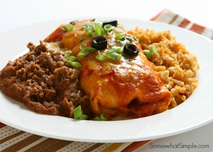 red enchilada recipe