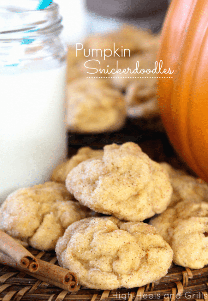 Pumpkin-Snickerdoodles-Recipes