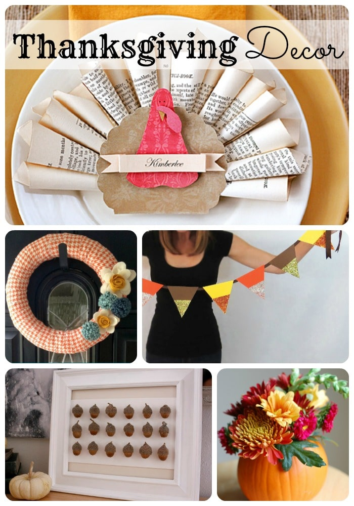 20 thanksgiving decorations somewhat simple - Thanksgiving decorations ...