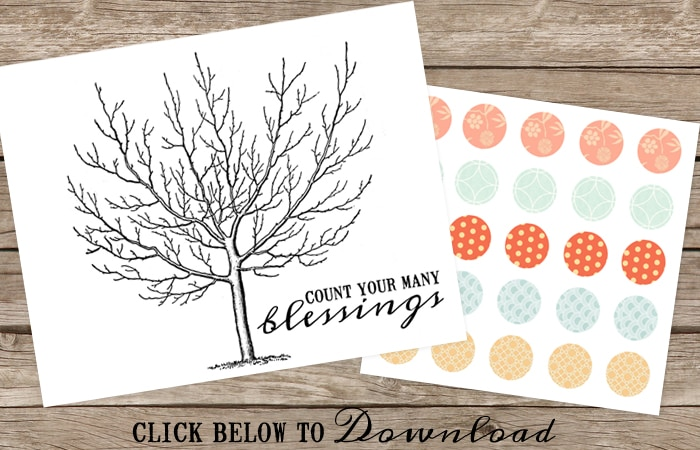 count your blessings tree download