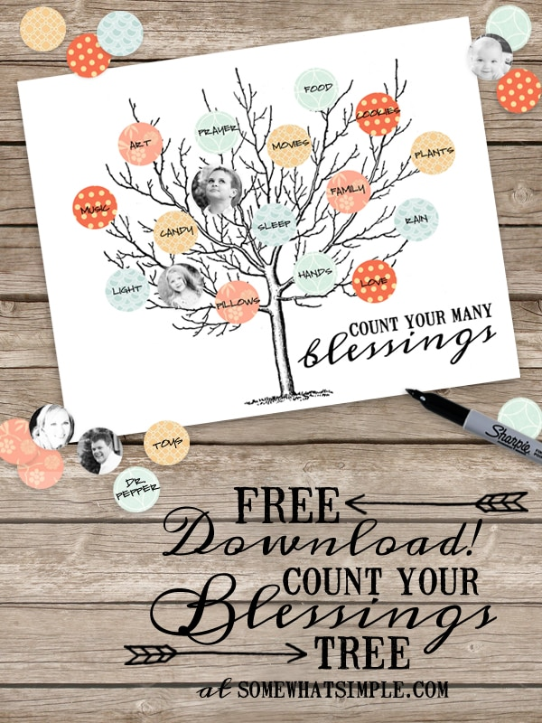 count your blessings tree | pinterest