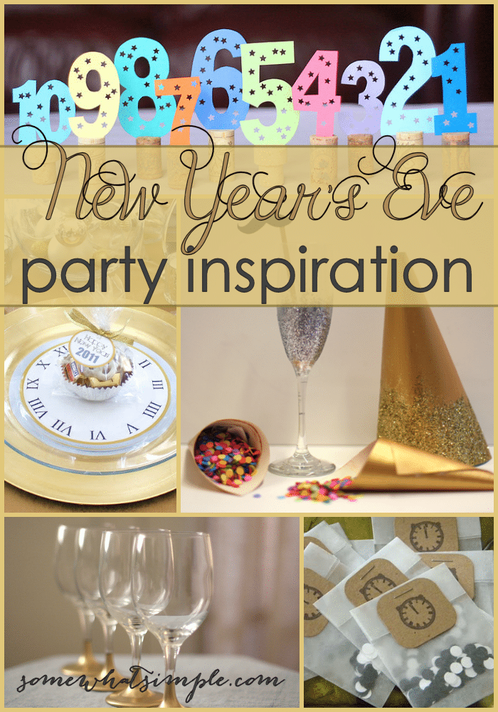 New Years Eve Party Ideas - Somewhat Simple