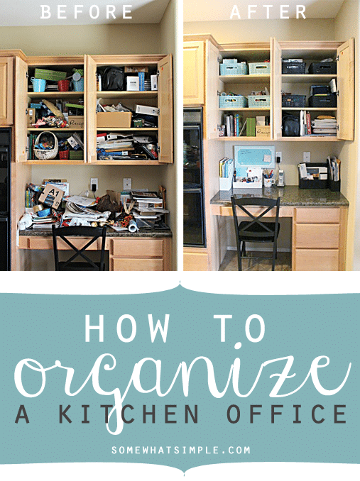 organize an office