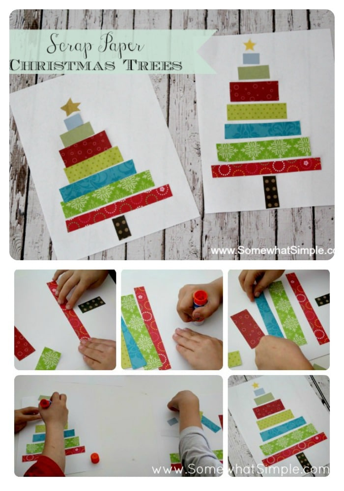 paper tree kids craft