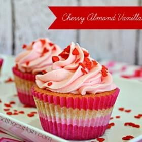 Cherry-Almond-Vanilla-Cupcakes-Lady-Behind-The-Curtain