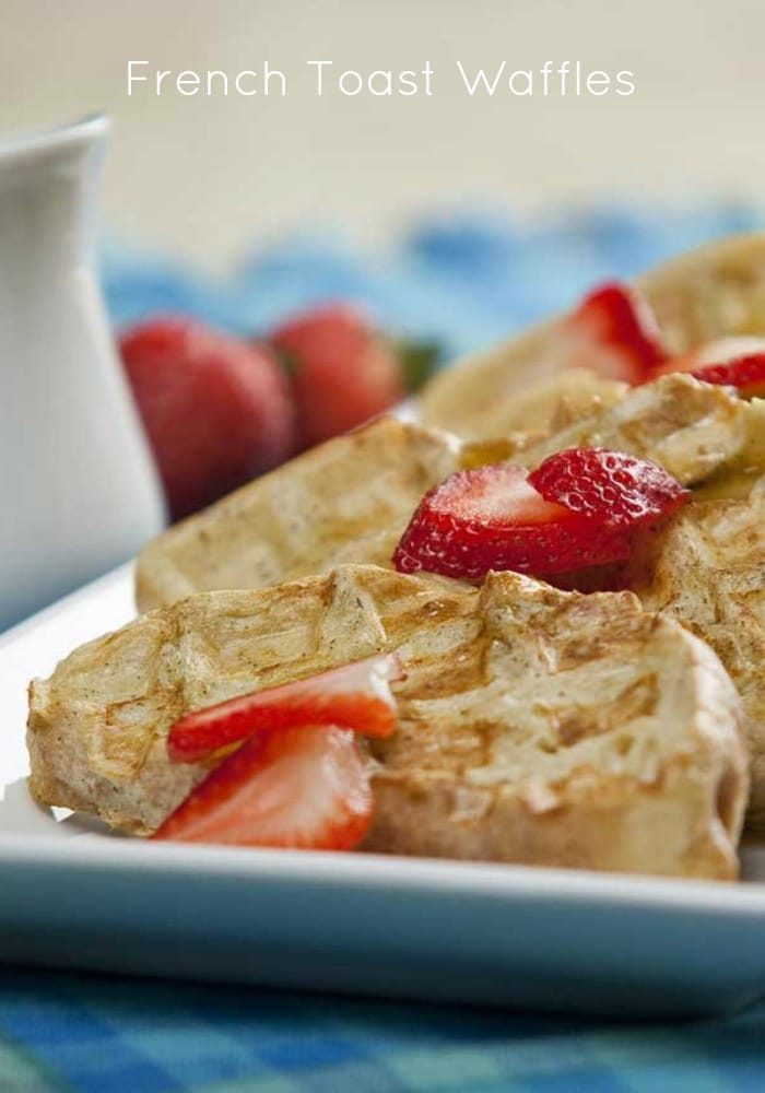 French Toast Waffles #mybloom - Somewhat Simple