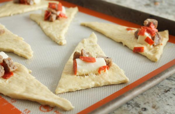 Uncooked Pizza Bites