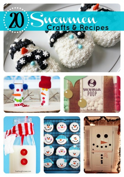 Snowman Treats and Crafts
