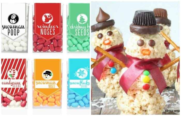 Favorite Snowman Treats and Crafts