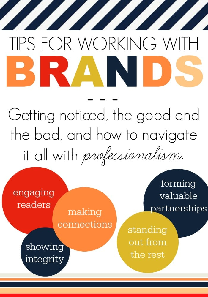 Tips for Working with Brands