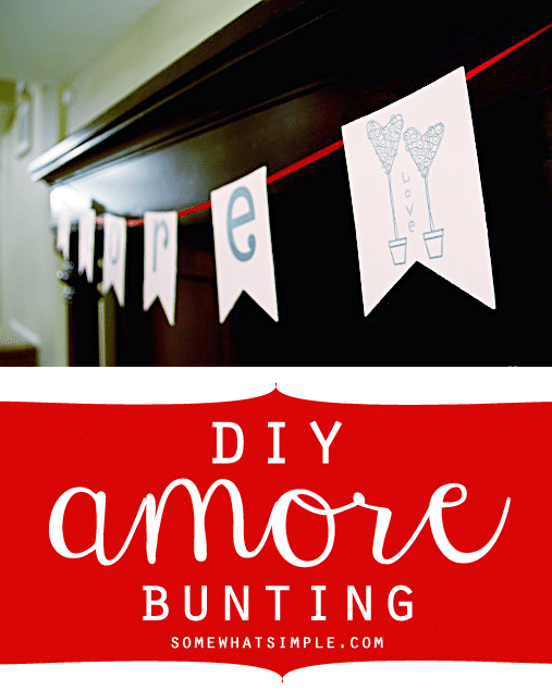 amore bunting