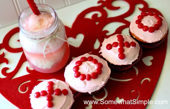 valentine cupcakes 2
