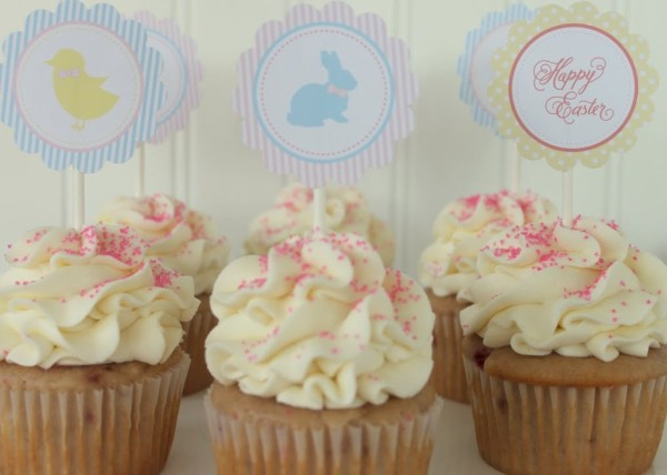 1-EasterParty.CupcakeToppers.MirabelleCreations